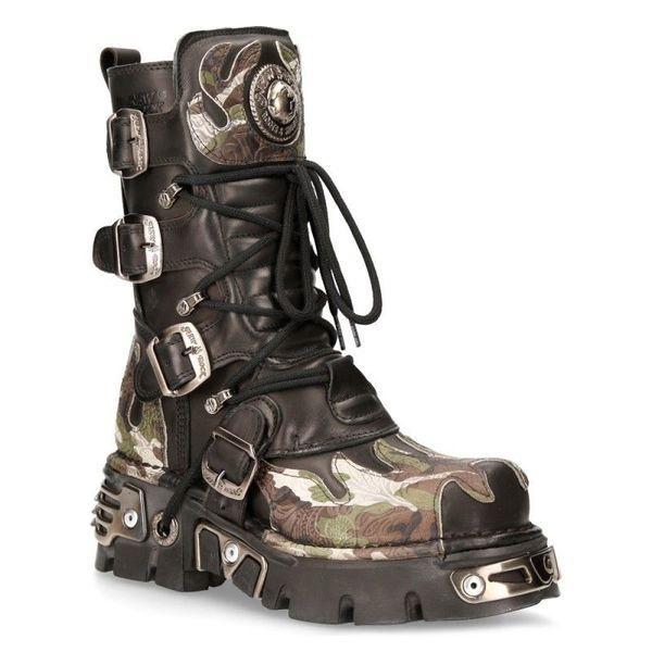 Square boot metallic m 591 s15 3