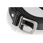 Men's Classic Black Leather Belt